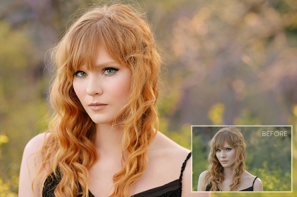 Best Portrait Retouching and Makeover Photoshop and PSE Actions