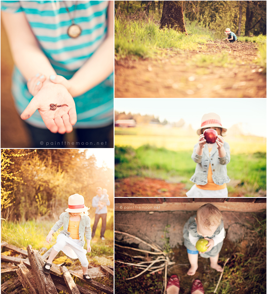 Photoshop Actions Children Outdoor Photography Sun