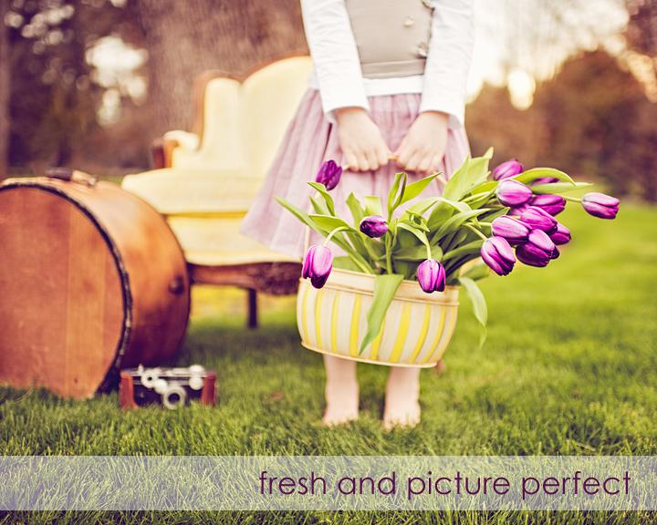 PSE Actions Photoshop Tutorial Color Pop Outdoor Portraits