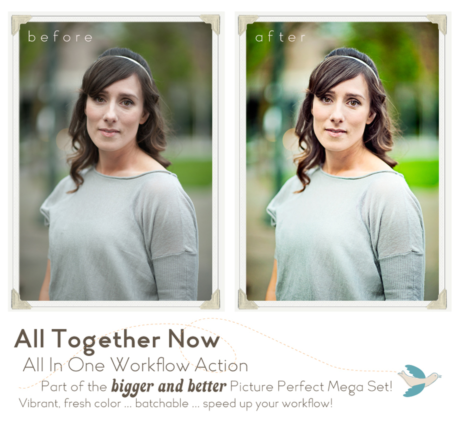 Photoshop Actions Retouching Portraits for Photographers Vintage Eyes Enhance Elements