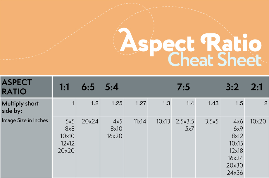Aspect Ratio and Cropping for Photography | Photoshop Actions Elements