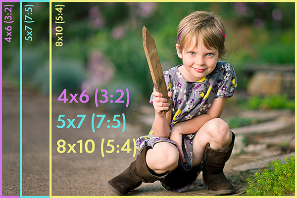 Aspect Ratio and Cropping for Photos   PSE Actions