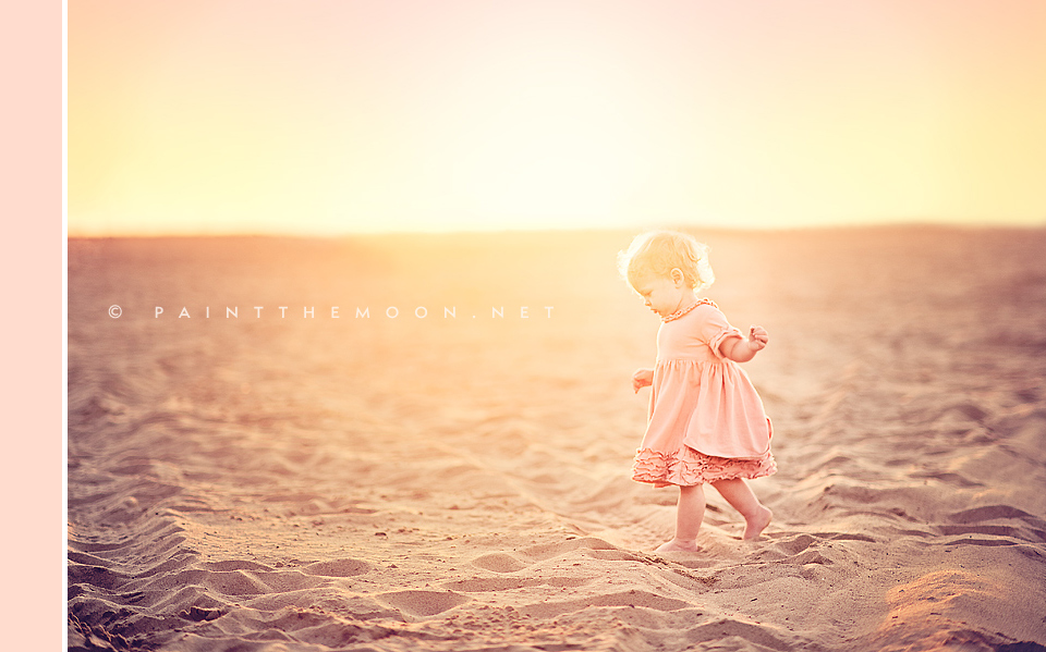 Photoshop Actions Elements Dancing Beach Vintage Sun Flare Photos Enhance
