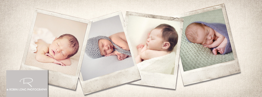 Custom Cover Photo for Facebook's Business Page Timeline Polaroid vintage frames