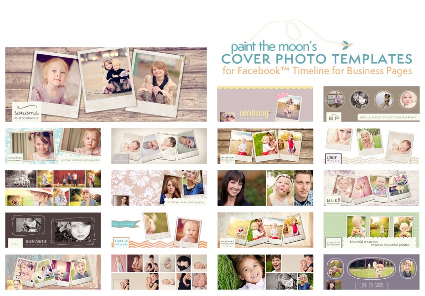 photoshop actions facebook business page timeline cover templates free makeover retouching