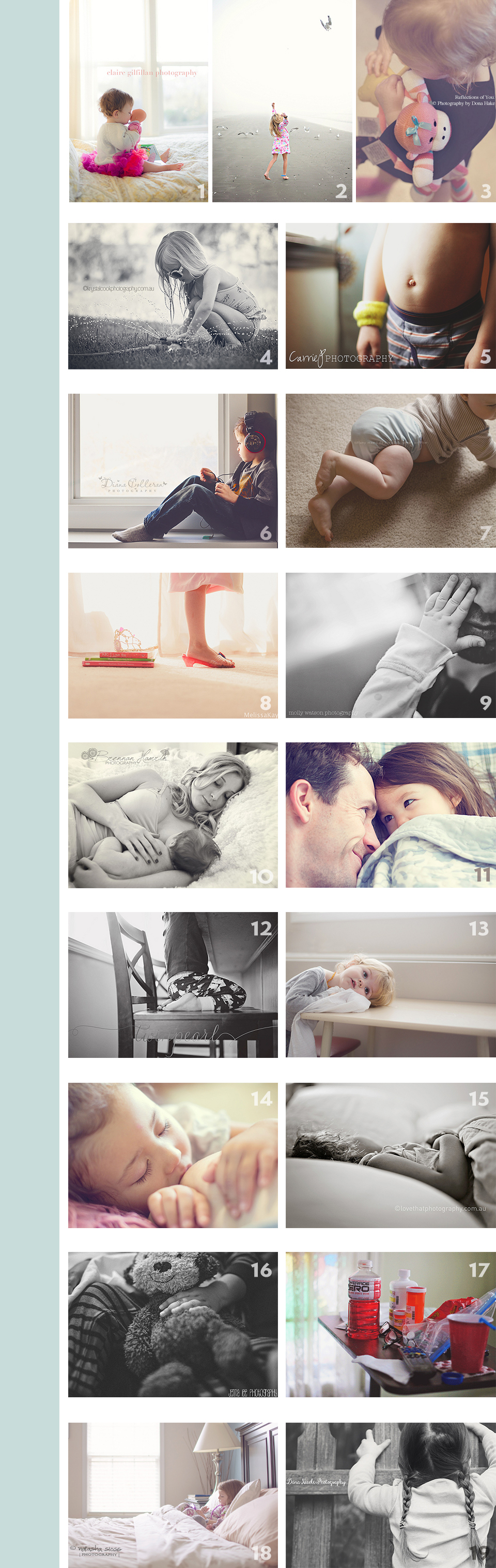 Lifestyle Photography - Capturing Indoor Candid Photos - Paint the Moon Photoshop Actions - Children Photography