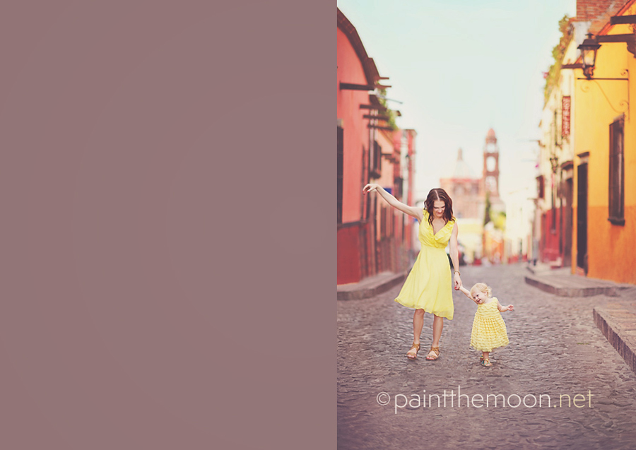 Self Portrait Tips - Paint the Moon Photoshop Actions