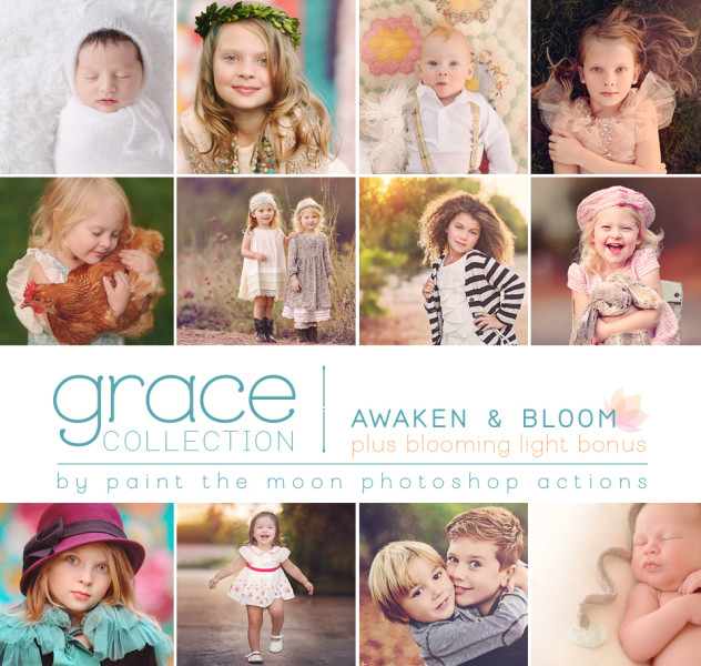 Grace Photoshop Actions - Awaken Set by Paint the Moon