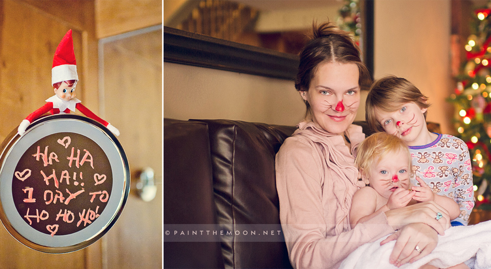 Taking Photos on Christmas Morning - Tips from Paint the Moon Photoshop Actions