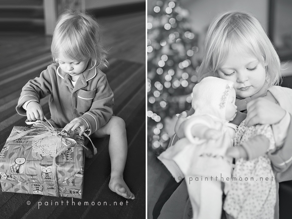 Photographing Christmas Morning - Tips from Paint the Moon Photoshop Actions