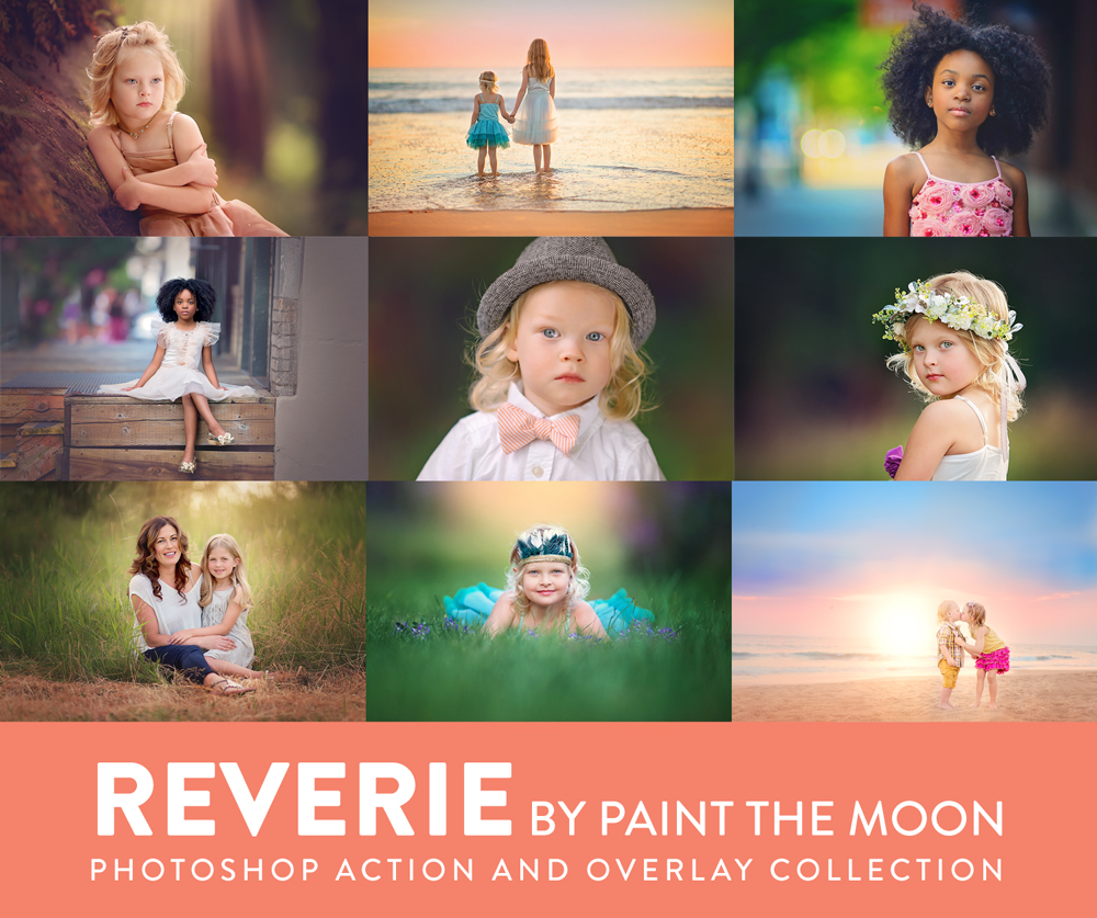 Portrait Photoshop Actions - Reverie Collection
