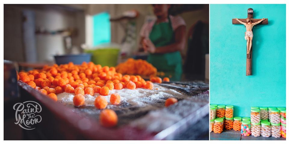 Mexican Coconut Candy Factory - Colorful Pop Photoshop Actions