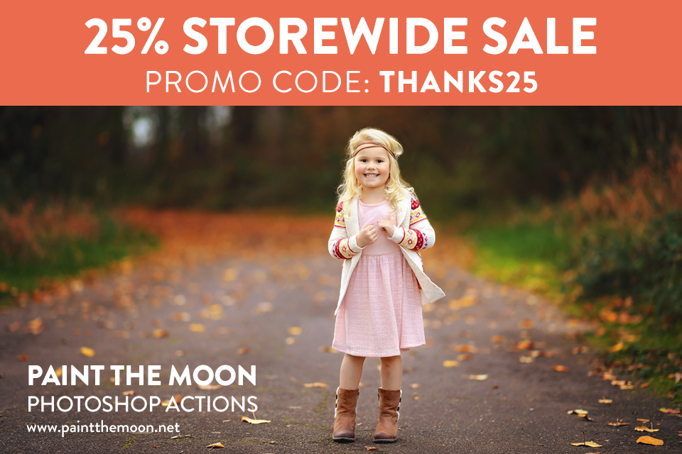 Black Friday Photoshop Actions Sale - Cyber Monday